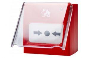 Resetlenebilir İhbar Butonu için Plastik Kapak Seti